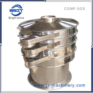 Vibrating Sieve Meet with GMP Standards (three outlet)
