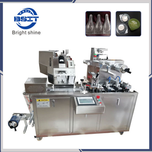 DDP-80 Automatic Alu PVC Blister Machine for Tablet and Capsule/Alu Alu Pharmaceutical Packing Machine
