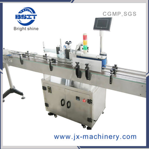 Fully-Automatic Double Sides Labeling Machine for Square Round Plastic Bottle