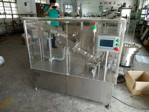 Effervescent Tablet Into PP Tube and PE Cap Filling Machine with Ce Certificate