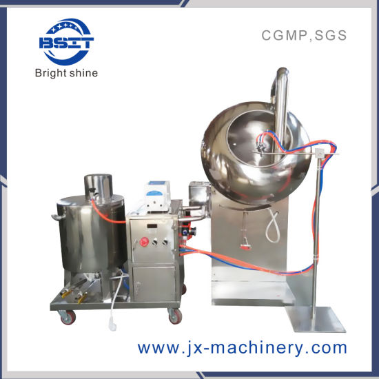 Pharmaceutical Machine SUS304 Tablet Pill Candy Film Coating Machine Byc400