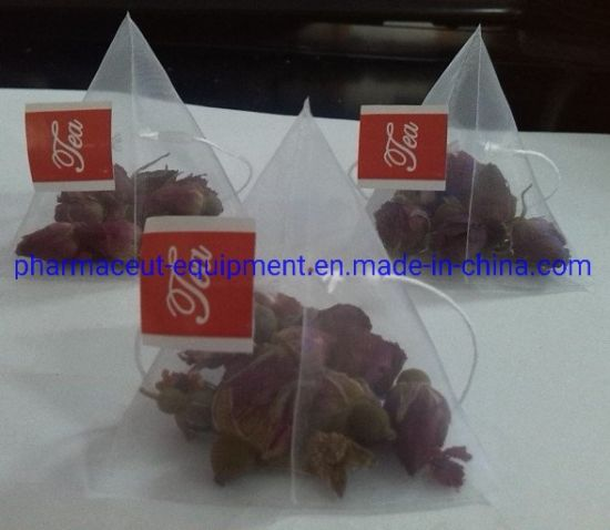 Vertical New Model Full Automatic Nylon Pyramids Tea Bag Packing Machine