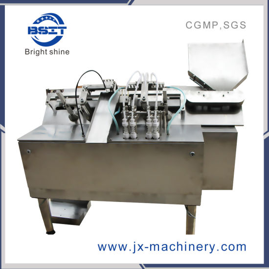 PLC Control Pesticide Glass Ampoule Filling Sealing Machine (AFS-4)