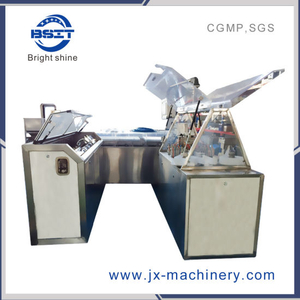 Alu-Alu Shell Mechanical Work Suppository Form Fill Seal Machine with Moulds