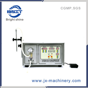Sf-II-2 Double Heads Semi-Auto Magnetic Gear Pump Liquid Filling Machine (5-4000ml)