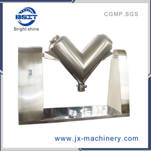 Pharmaceutical V Type Powder Mixer / Mixing / Blending Machine