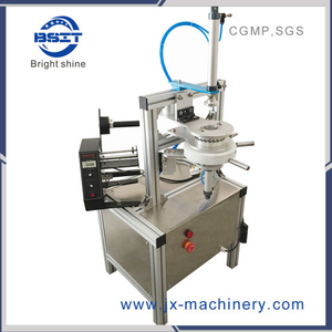 New High Quality Tea Cake Packing Round Tea Ball Pleat Wrapping Machine