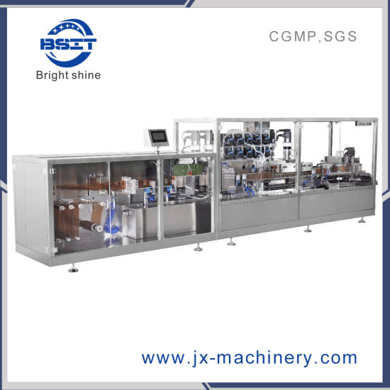 New Model Plastic Ampoule Stand up Liquid Bottle Forming Filling Sealing Machine
