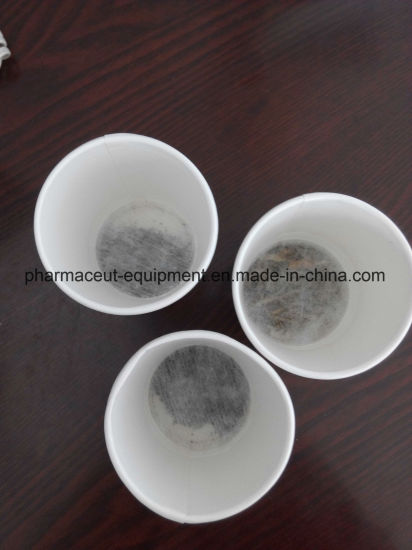 Manual Tea or Coffee Hidden Cup Making Packing Machine