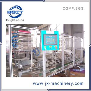 Pet and PVC Preform Mechanical Pump Bottle Making Filling Sealing Machine