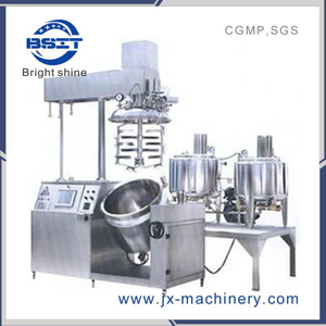 Tfzrj Set of Equipment of Cream Vacuum Emulsifying Mixing Machine