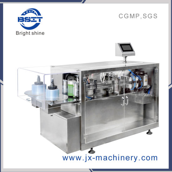Bsit Electric Cigarette Oil Plastic Ampoule Forming Filling and Sealing Machine