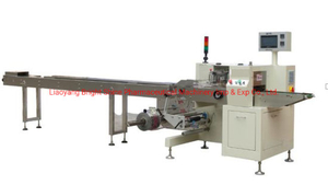 Face Mask/Cookie/Bread/Cake Full Servo Automatic Wrapping /Packing /Packaging/Package Machine