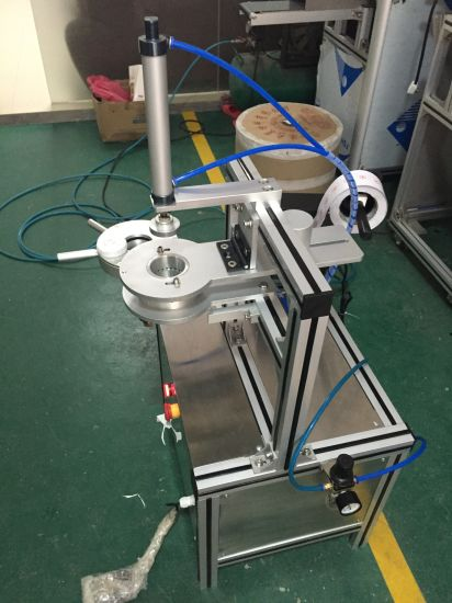Ht900 Mini Hotel Soap/Toilet Block/Wc Block/Toilet Blue Buble Pleating Wrapping Packing Machine