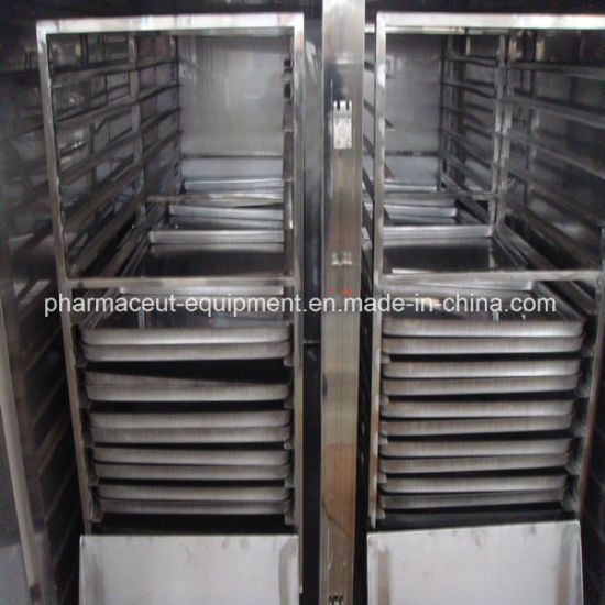 SUS304 Pharmaceutical Hot Air Circulation Drying Oven Meet with GMP (CT)