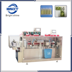Automatic Lab Medical Fluid Liquid Plastic Ampoule Liquid Filling and Sealing Machine (DSM)