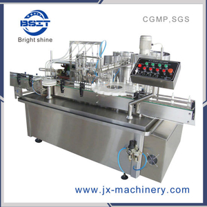 10ml PLC Control Small Plastic Bottle Spray Can Filling Machine with Spare Parts