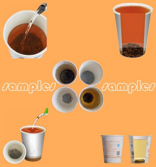 Green/Balck Instant Tea Hidden Paper Cup Making Machine