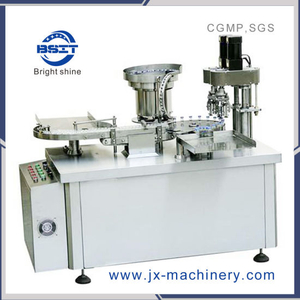 Factory Manufacture Perfume Automatic Vial Crimper Machine with Spare Parts