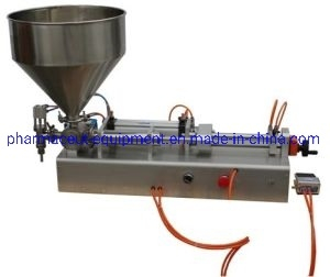 Manual Operate Horizontal Pneumatic Ointment Filling Machine