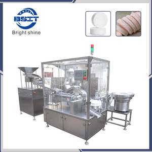 Vitamin C Effervescent Tablet Counting Packing Machine with GMP Standards