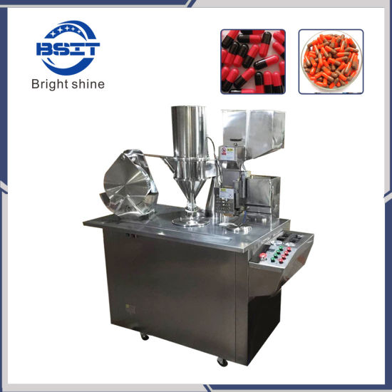 Manual Hard Gelatin Capsule Filler/Small Capsule Filling Machine for 00-5# Capsule