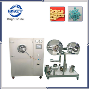 Lab Small Capacity Bgb5f Tablet Film Coating Machine