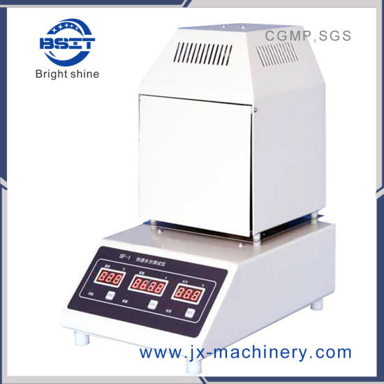 Sf-1 Fast Moisture Tester Machine for Testing Water in Powder or Granule