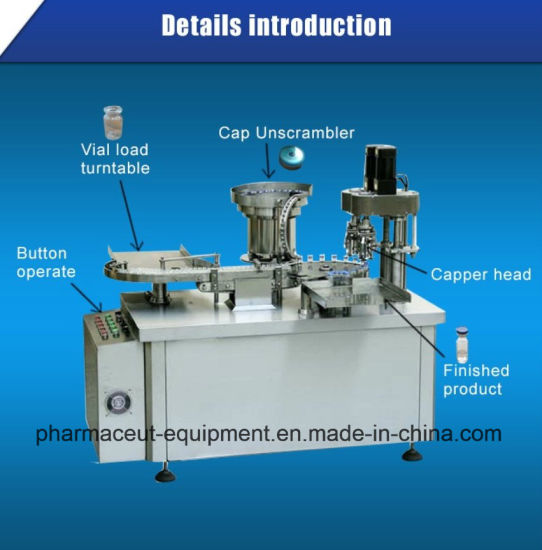 Factory Manufacture 10ml Bottle Injection Cap Machine with Mould